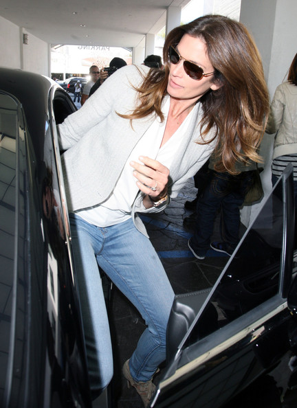 More Pics of Cindy Crawford Cropped Jacket (1 of 12) - Cindy Crawford Lookbook - StyleBistro