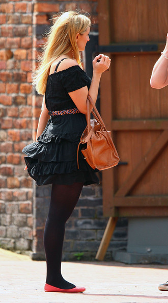 More Pics of Catherine Tyldesley Ballet Flats (1 of 6) - Flats Lookbook - StyleBistro