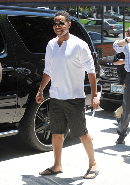 More Pics of Cuba Gooding Jr. Dress Shorts (1 of 8) - Dress Shorts Lookbook - StyleBistro