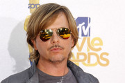 David Spade Aviator Sunglasses