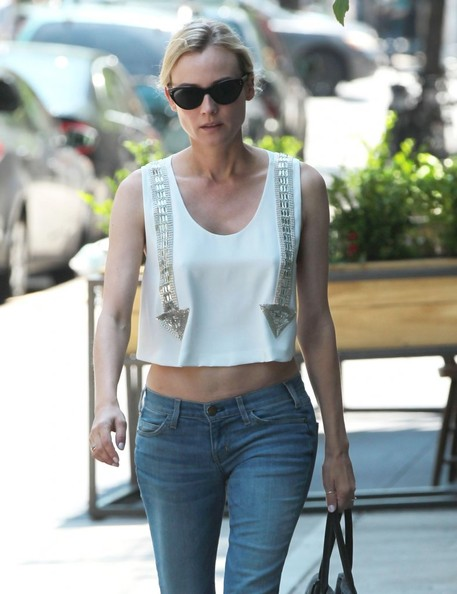 More Pics of Diane Kruger Skinny Jeans (5 of 22) - Diane Kruger Lookbook - StyleBistro