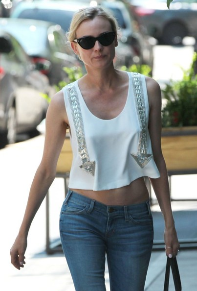 More Pics of Diane Kruger Skinny Jeans (3 of 22) - Diane Kruger Lookbook - StyleBistro