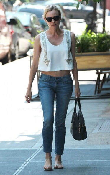 More Pics of Diane Kruger Skinny Jeans (4 of 22) - Diane Kruger Lookbook - StyleBistro