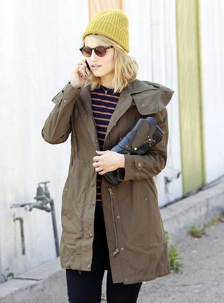 More Pics of Dianna Agron Utility Jacket (1 of 13) - Dianna Agron Lookbook - StyleBistro