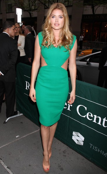 Doutzen Kroes Cutout Dress