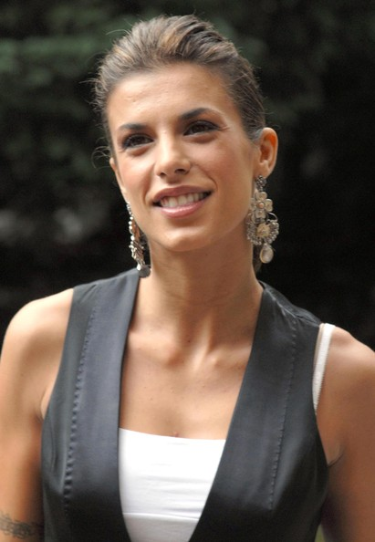 Elisabetta Canalis Sterling Chandelier Earrings