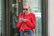 Elsa Hosk Crewneck Sweater