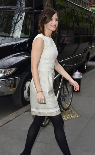 More Pics of Emily Blunt Platform Pumps (1 of 12) - Emily Blunt Lookbook - StyleBistro