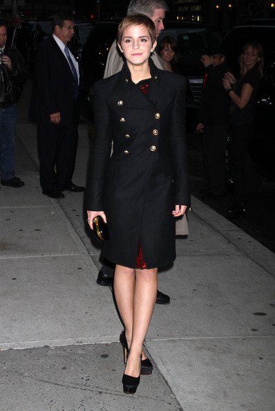 Emma Watson at the'Late Show with David Letterman' in New York City NY