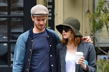 Emma Stone Andrew Garfield Emma Stone and Andrew Garfield's Coffee Date