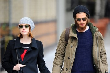 Emma Stone Andrew Garfield Emma Stone and Andrew Garfield Out in NYC