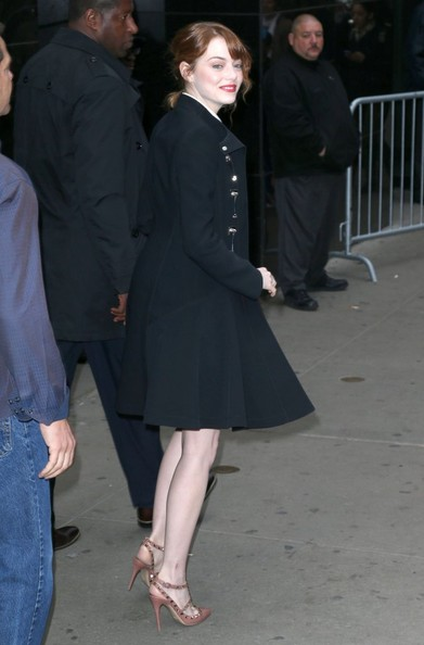More Pics of Emma Stone Cocktail Dress (1 of 18) - Emma Stone Lookbook - StyleBistro