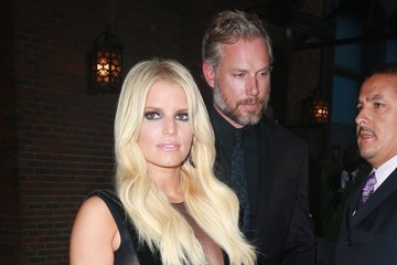 Eric Johnson Jessica Simpson Jessica Simpson and Eric Johnson Step Out in NYC