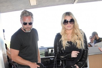 Eric Johnson Jessica Simpson Jessica Simpson and Eric Johnson Departs From LAX