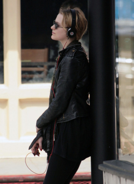 More Pics of Evan Rachel Wood Lace Up Boots (1 of 29) - Evan Rachel Wood Lookbook - StyleBistro