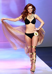 Alyssa Campanella showed off her rocking bikini body during this beauty pageant.