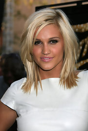 Ashley's layered cut looked stunning at the LA premiere of 'Fame.'