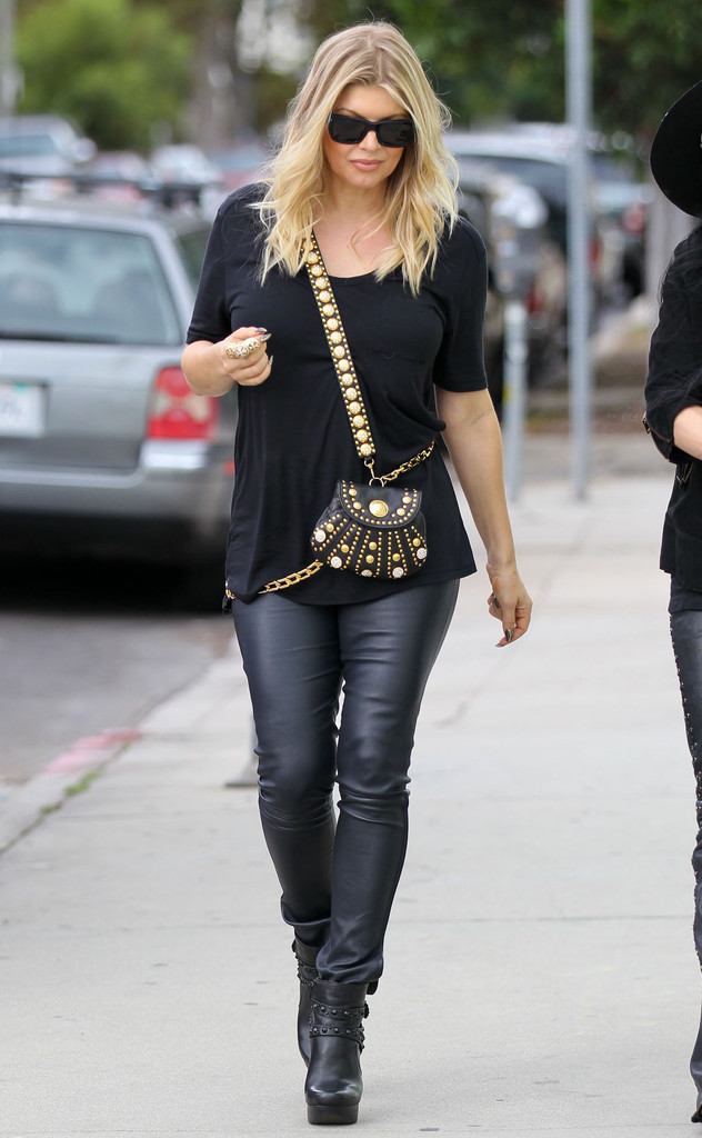Fergie Ankle Boots Fergie Looks Stylebistro