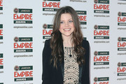 Georgie Henley Beaded Dress