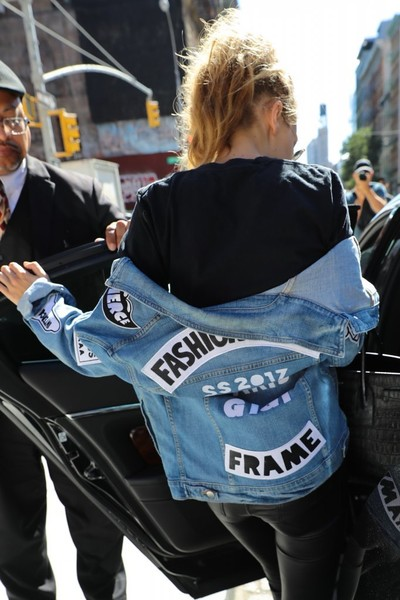 Gigi Hadid Denim Jacket
