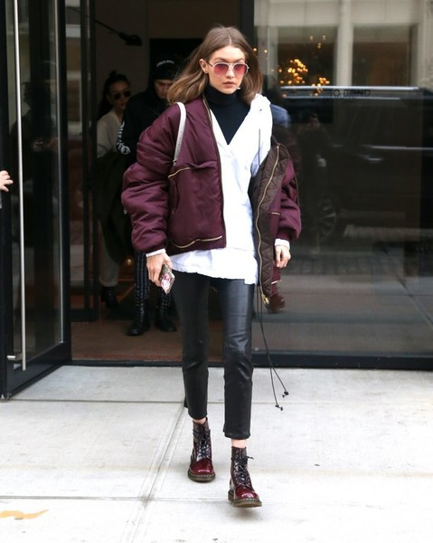 Gigi Hadid Down Jacket