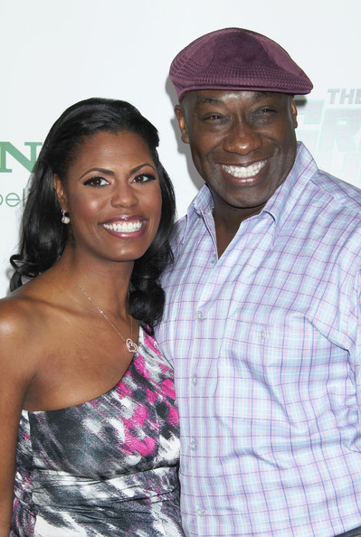 More Pics of Omarosa Manigault-Stallworth Leather Clutch (1 of 4) - Omarosa Manigault-Stallworth Lookbook - StyleBistro