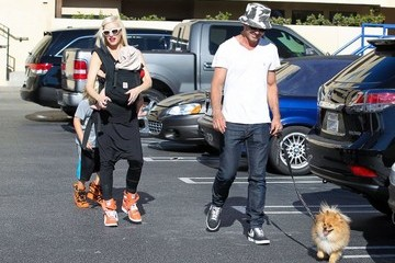 Gwen Stefani Gavin Rossdale Gwen Stefani & Family Have A Busy Day In Studio City