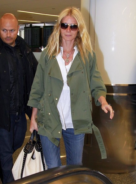 More Pics of Gwyneth Paltrow Utility Jacket (1 of 7) - Utility Jacket Lookbook - StyleBistro