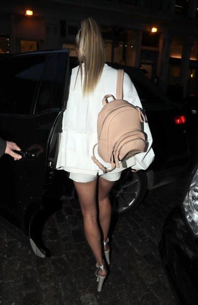 Hailey Baldwin Designer Backpack