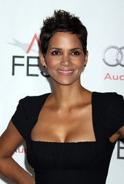 Halle Berry's signature pixie cut never gets old. The stunning actress started the pixie trend way back in the 90s and continues to keep the look fresh and modern.