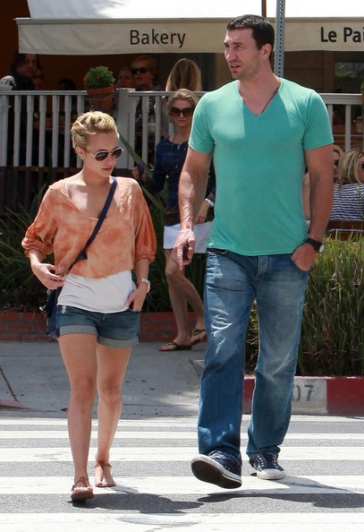 **FILE PHOTOS** Hayden Panettiere & Wladimir Klitschko Call It Splits