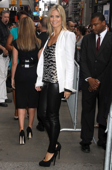 Heidi Klum Fitted Jacket