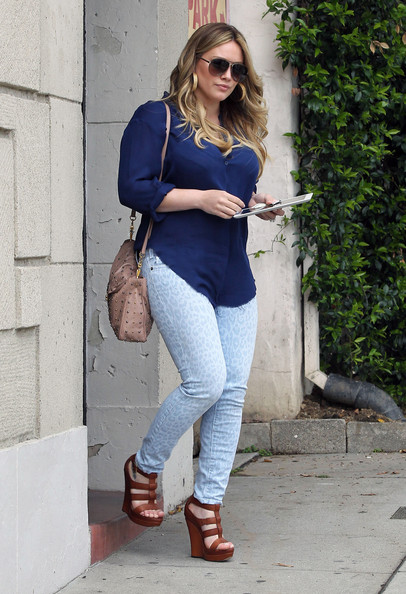 Hilary Duff Wedges