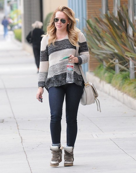 Hilary Duff Crewneck Sweater