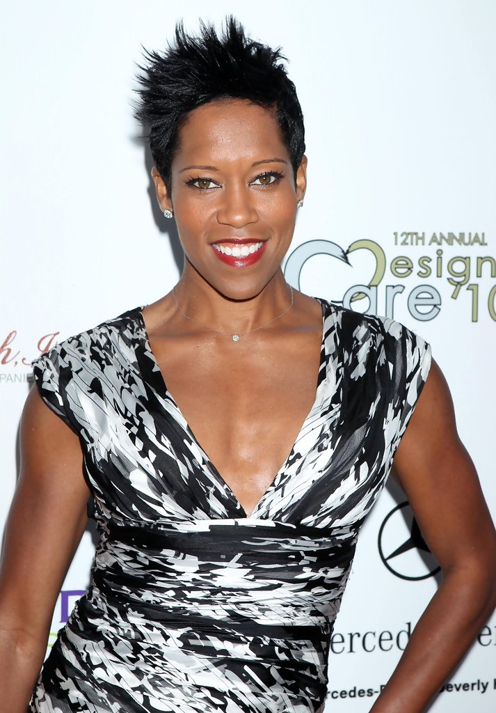 Regina King Celebrity Black Hair Styles Pictures