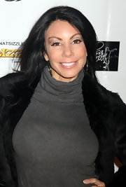 Danielle Staub rocked basic straight locks at the launch of IHAV apparel launch in New York.