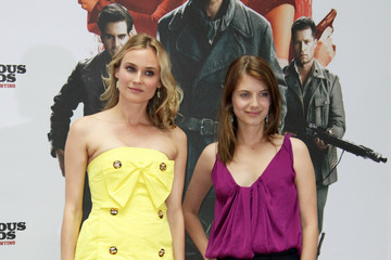 Diane Kruger Melanie Laurent 'Inglourious Basterds' Photocall In Berlin