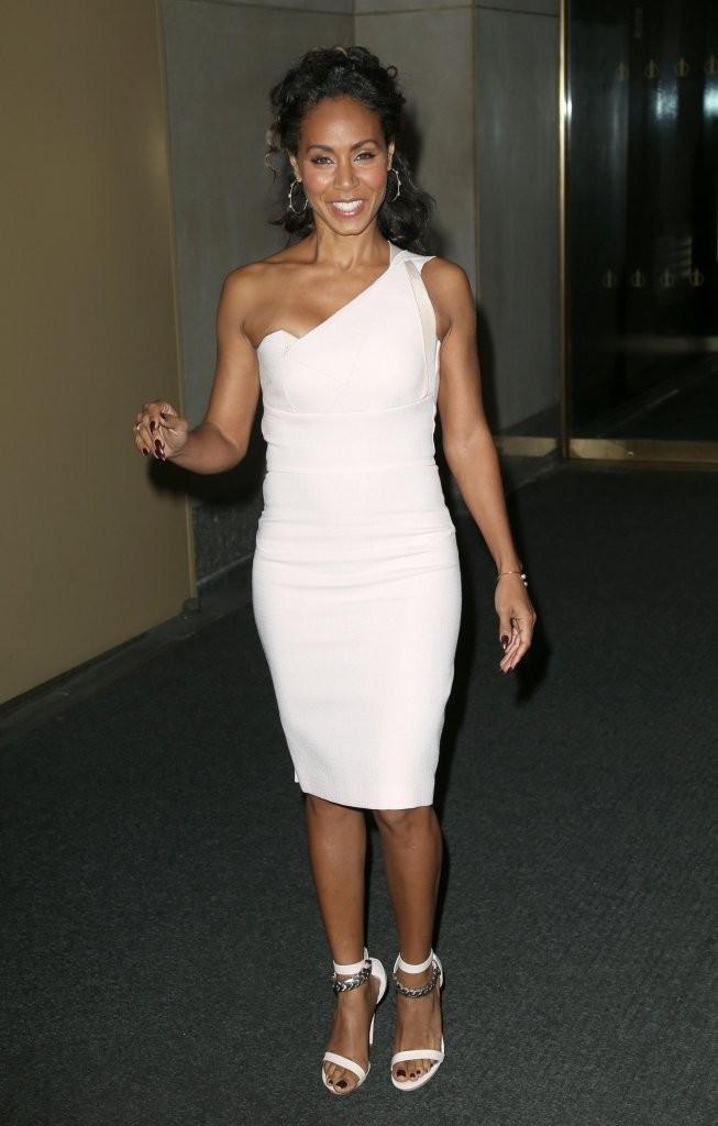 Jada Pinkett Smith One Shoulder Dress Jada Pinkett Smith