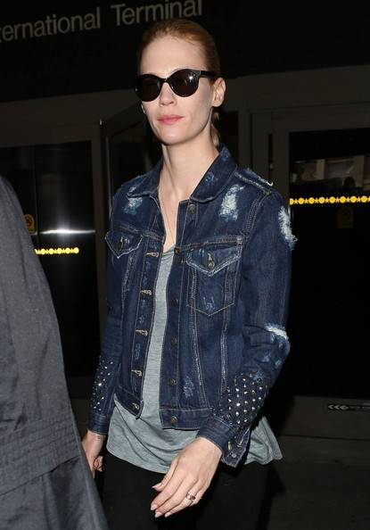 More Pics of January Jones Denim Jacket (5 of 15) - January Jones Lookbook - StyleBistro