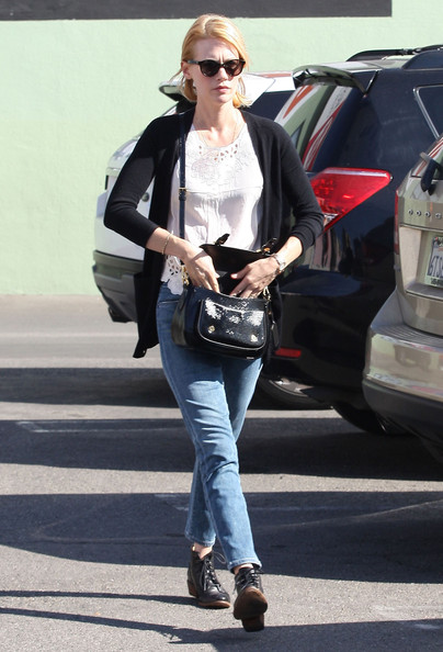 More Pics of January Jones Patent Leather Shoulder Bag (5 of 39) - Shoulder Bags Lookbook - StyleBistro