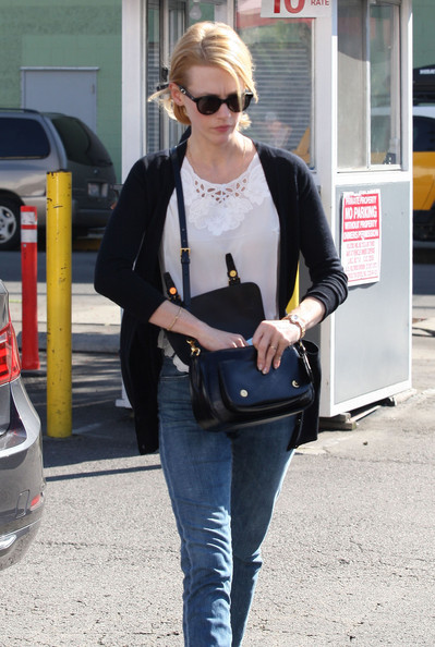 More Pics of January Jones Patent Leather Shoulder Bag (3 of 39) - Shoulder Bags Lookbook - StyleBistro