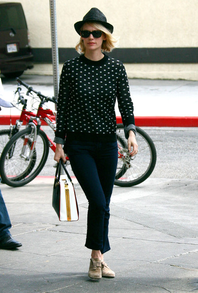 More Pics of January Jones Flat Oxfords (6 of 8) - January Jones Lookbook - StyleBistro