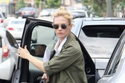 January Jones Oval Sunglasses