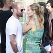 Jason Statham and Isabel Lucas