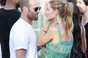 Jason Statham and Isabel Lucas Photo