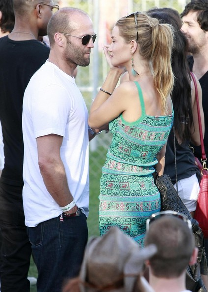 Jason Statham And Isabel Lucas At The Coachella Music Festival Day 3