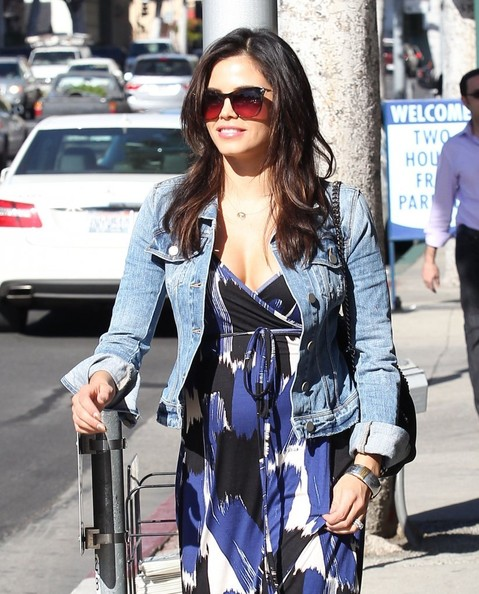 Pregnant Jenna Dewan Out And About In Beverly Hills