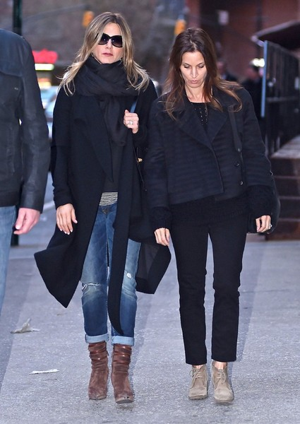 More Pics of Jennifer Aniston Wedge Boots (1 of 9) - Boots Lookbook - StyleBistro []