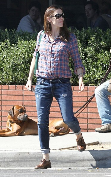 Jennifer Garner Button Down Shirt
