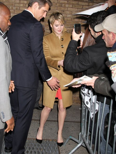 More Pics of Jennifer Lawrence Evening Sandals (5 of 12) - Jennifer Lawrence Lookbook - StyleBistro